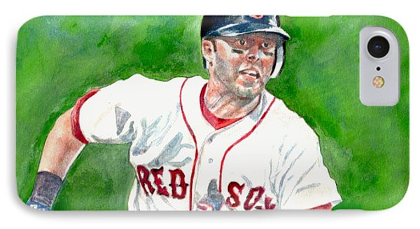 Pedroia IPhone Case by Nigel Wynter