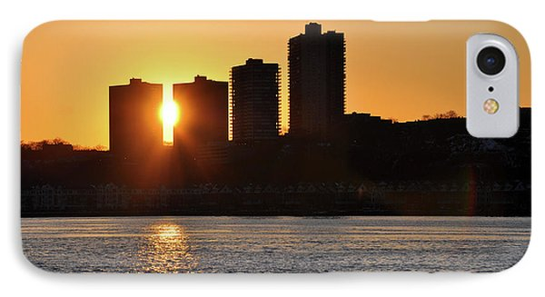 IPhone Case featuring the photograph Peekaboo Sunset by Sarah McKoy