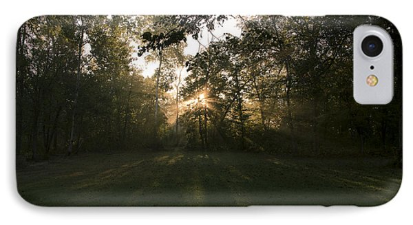 IPhone Case featuring the photograph Peeking Through by Annette Berglund