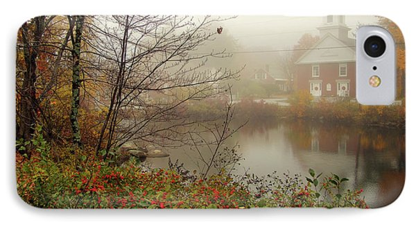 Foggy Glimpse IPhone Case by Betsy Zimmerli