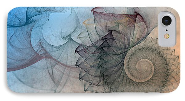 Pefect Spiral IPhone Case by Karin Kuhlmann