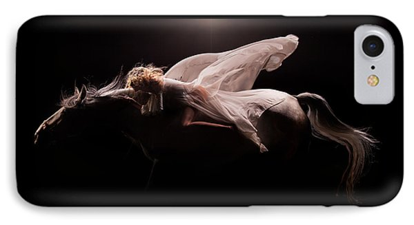 IPhone Case featuring the photograph Pegasus Full by Dario Infini