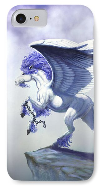 Pegasus Unchained IPhone 7 Case by Stanley Morrison
