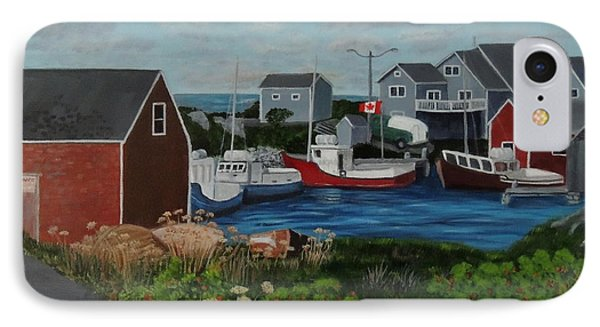 Peggy's Cove Phone Case by Lisa MacDonald