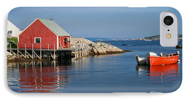 Peggys Cove Phone Case by Thomas Marchessault