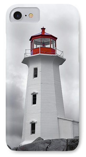 Peggy's Cove Tranquility  IPhone Case by Betsy Knapp