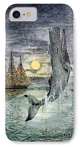 Pehe Nu-e: Moby Dick IPhone Case by Granger
