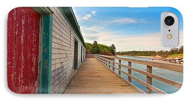 Pei Beach Boardwalk IPhone Case