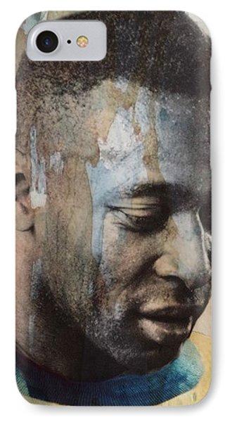 Pele iPhone 7 Case - Pele  by Paul Lovering
