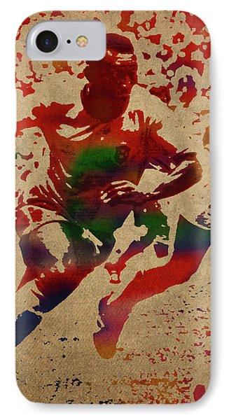 Pele iPhone 7 Case - Pele Watercolor Portrait by Design Turnpike