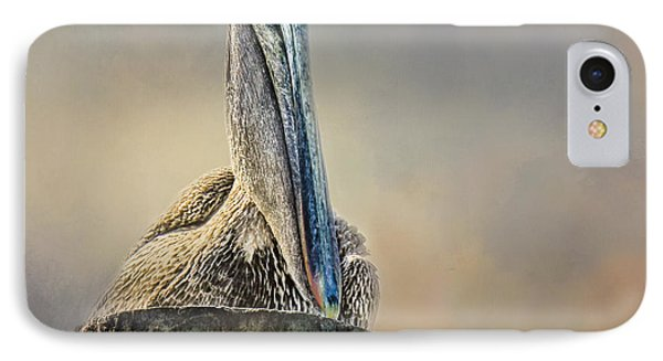Pelican In Paradise Squared IPhone Case