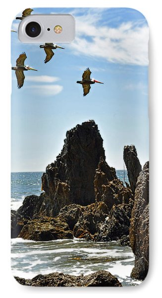 Pelican Inspiration IPhone Case by Gwyn Newcombe