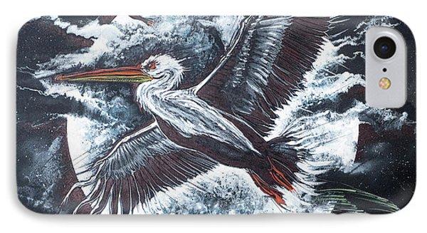 Pelican Moon IPhone Case