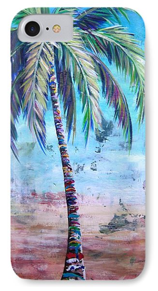 Pelican Palm I IPhone Case by Kristen Abrahamson