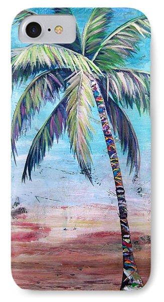 Pelican Palm II IPhone Case by Kristen Abrahamson