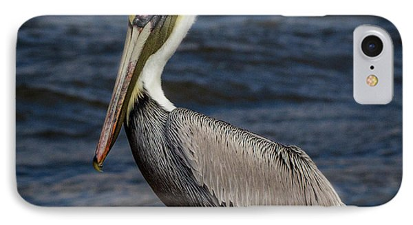 Pelican Profile 2 IPhone Case by Jean Noren