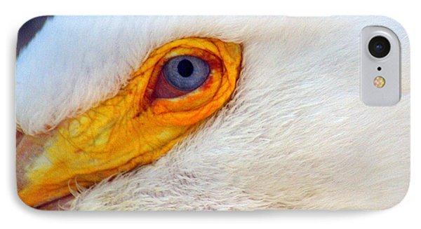 Pelican's Eye Phone Case by Marty Koch