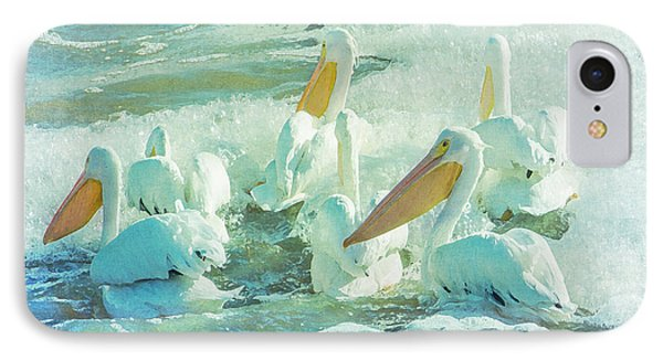 Pelicans On The Tide IPhone Case