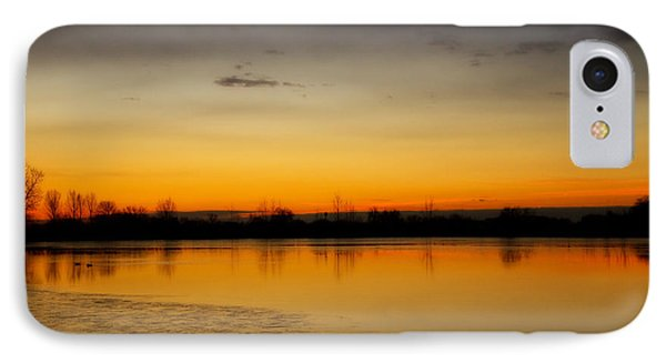 Pella Ponds  December 16th Sunrise Poster Photography Print IPhone Case by James BO  Insogna