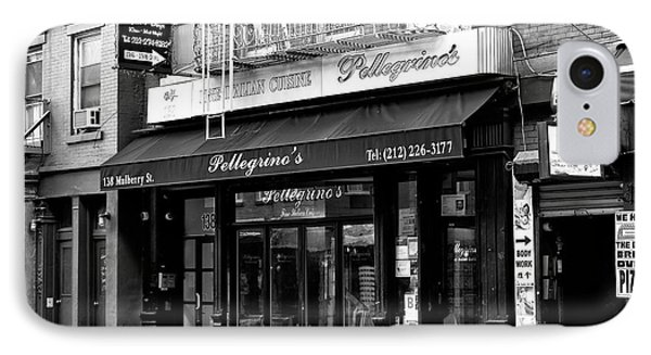 IPhone Case featuring the photograph Pellegrino's by John Rizzuto