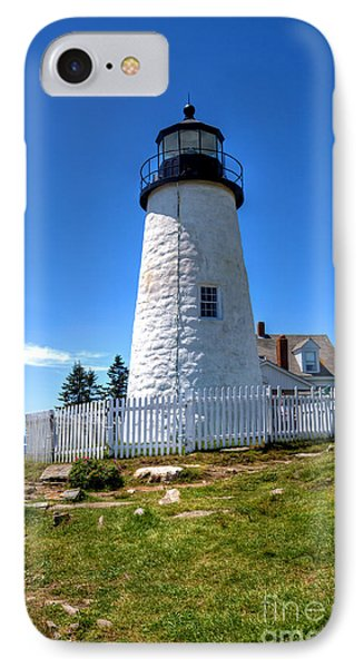 IPhone Case featuring the photograph Pemaquid Point Lighthouse by Adrian LaRoque