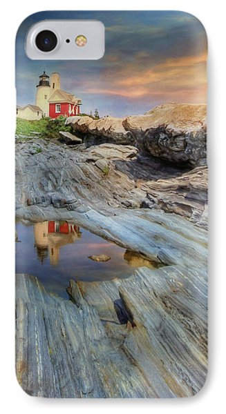 Pemaquid Lighthouse IPhone Case by Lori Deiter