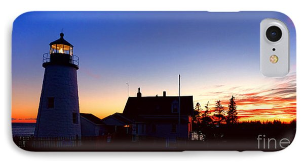 Pemaquid Point Evening IPhone Case by Olivier Le Queinec