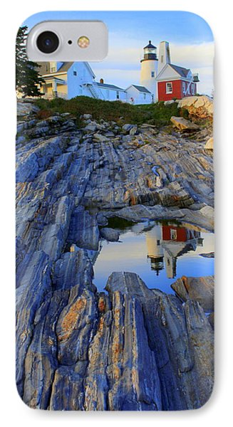 Pemaquid Point Light Reflections IPhone Case