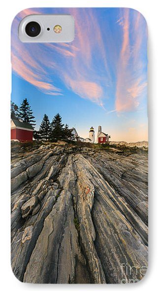 Pemaquid Point Lighthouse IPhone Case by Henk Meijer Photography