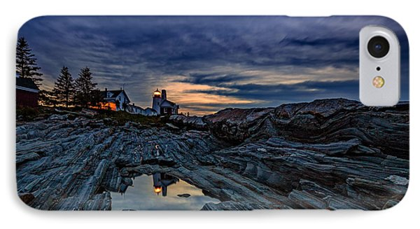 Pemaquid Reflections IPhone Case by Rick Berk