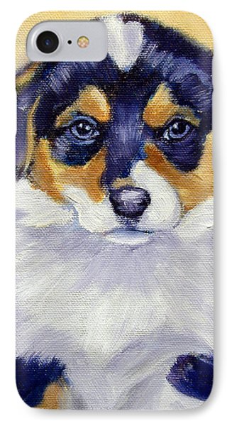 Pembroke Welsh Corgi Pup IPhone Case