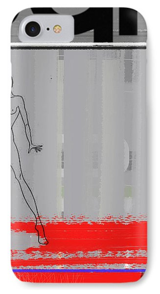 Pencil Fashion IPhone Case by Naxart Studio