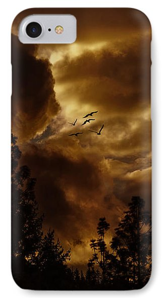 Pending Storm IPhone Case by Diane Schuster