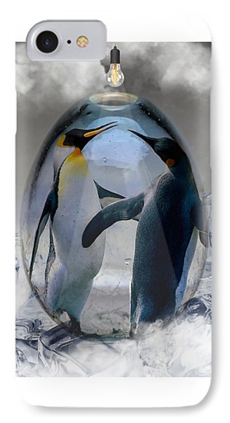 Penguin Art IPhone Case
