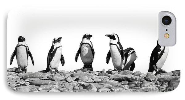 Penguins IPhone Case by Delphimages Photo Creations