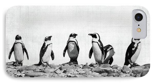 Penguin iPhone 7 Case - Penguins by Delphimages Photo Creations