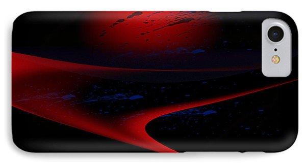 Penman Original-347 Cosmic Curve IPhone Case
