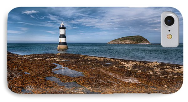 Penmon Lighthouse Phone Case by Adrian Evans