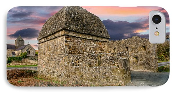 Penmon Priory Sunset IPhone Case by Adrian Evans