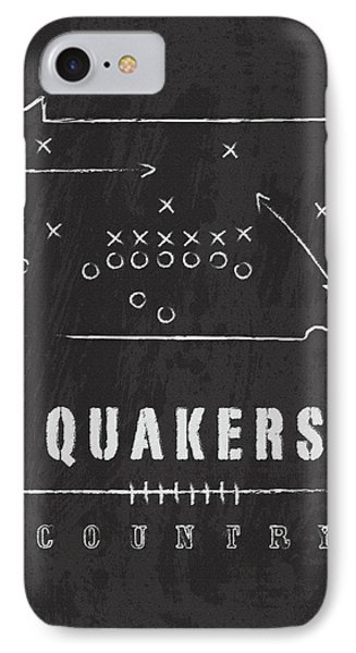 Penn Quakers Country IPhone Case by Damon Gray