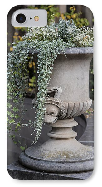 Penn State Flower Pot  IPhone 7 Case by John McGraw