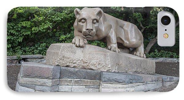 Penn Statue Statue  IPhone 7 Case by John McGraw