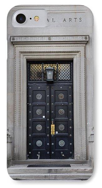 Penn State University Liberal Arts Door  IPhone 7 Case by John McGraw