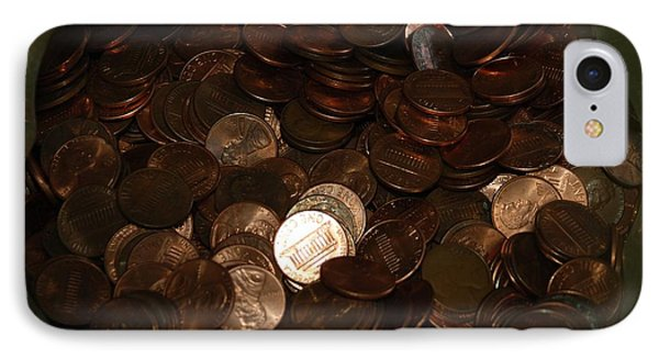 Pennies Phone Case by Rob Hans
