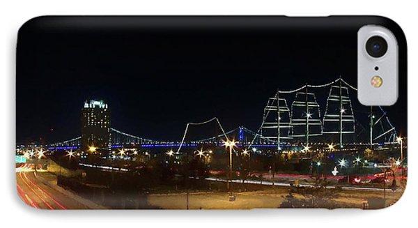 Penn's Landing IPhone Case by Leeon Pezok