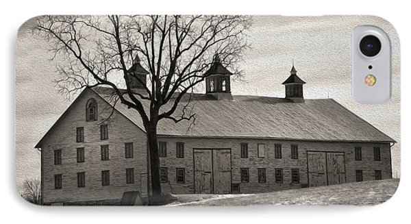 IPhone Case featuring the digital art Pennsylvania Barn by Robert Geary