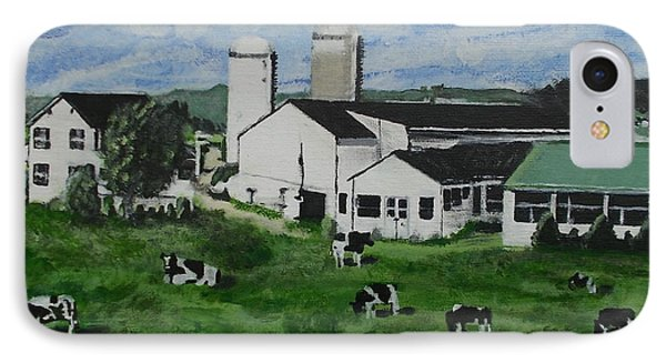 Pennsylvania Holstein Dairy Farm  IPhone Case
