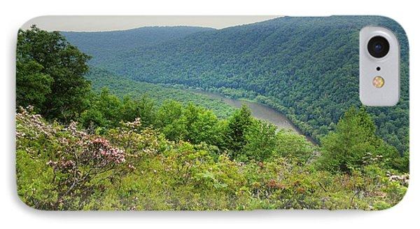Pennsylvania Mountain Outlook IPhone Case by Andrea Hazel Ihlefeld