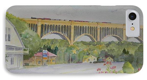 Pennsylvania - Nicholson Bridge IPhone Case