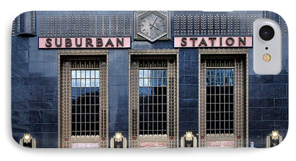 Pennsylvania Railroad Suburban Station IPhone Case by Olivier Le Queinec